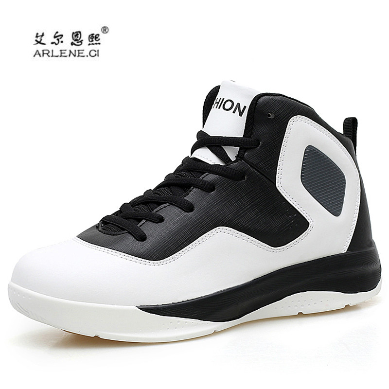 2e89254a2377 Men Basketball Shoes for Outdoor 2018 Male Winter Gym Sport Sneakers Ankle  Boots Trainers Basket Homme Ultra Boost Plus Size 47-in Basketball Shoes  from ...