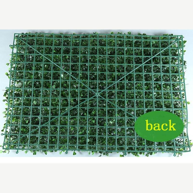 Green Plant Wall Artificial Lawn Boxwood Hedge Garden Backyard Home Backdrop Decor Simulation Milan Grass Outdoor Flower Wall