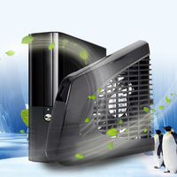 New Promotion Black USB Side Cooling Fan Specially Designed For Xbox 360 Slim Console L3EF