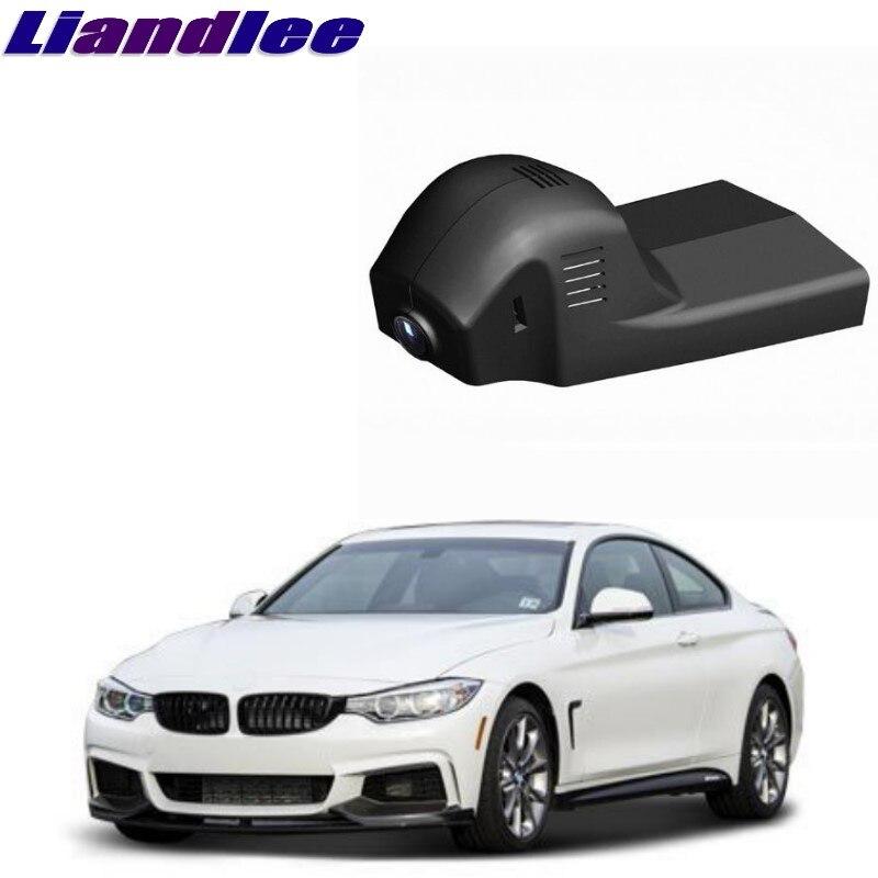 Liandlee Para BMW Série 4 M4 F32 F33 F36 Registro Wi-fi DVR Traço Estrada Câmera Condução Do Carro Gravador de Vídeo
