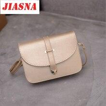 JIASNA Bags For Women New Hard PU Lady Bags Shoulder Bags Lock Luxury Designer Handbags Pink