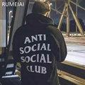 ANTI SOCIAL SOCIAL CLUB Men Hoodie Sportswear Fleece Sweatshirt Hip hop Skateboard Tracksuit Pullover Hoodies ANTI SOCIAL CLUB