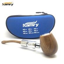 Original Kamry K1000 E-Pipe kit K1000 Atomizer e Pipe Mod Wooden Black Silver Vape Electronic Cigarette Kit
