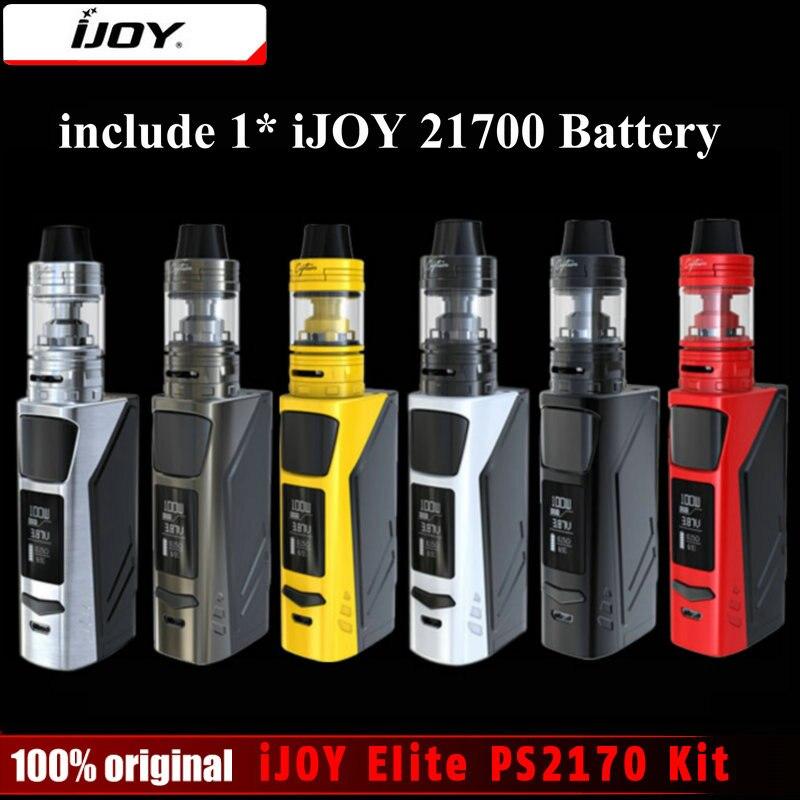 Original Ijoy Elite PS Kit Electronic Cigarette mAh Battery W Box Mod