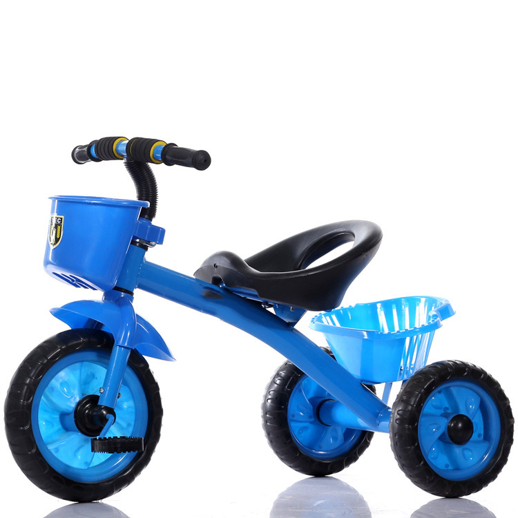Child Tricycle Bicycle Baby Three Wheels Stroller Trike Baby Carriage Pram Buggy Children Tricycle Bike Bicycle Baby Car 2~6 Y brand quality portable baby tricycle bike children tricycle stroller bicycle swivel baby carriage seat detachable umbrella pram