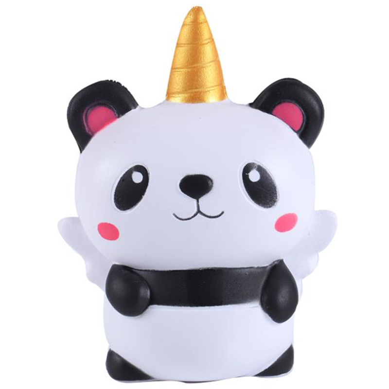 Jumbo Kawaii Unicorn Panda Squishy Cream Scented Simulation Soft Squeeze Toy Slow Rising Stress Relief For Kid Baby Gift Toy