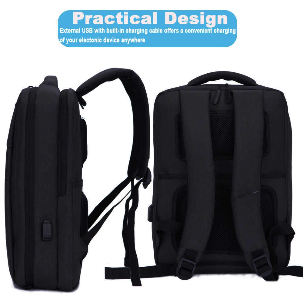 9a4bebbcf932 Cartinoe USB Charging 17.3 / 15.6 inch Laptop Backpack Anti Theft Backpack  Men Travel Bag Male Mochila bag for Xiaomi pro 15