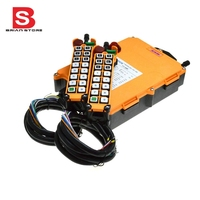12 24vdc 1 Speed 2 Transmitter 16 Channels Hoist Crane Industrial Truck Radio Remote Control System