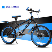 20 inch folding mountain bike mountain bicycle double disc brake bike New folding mountain bicycle Suitable for adults