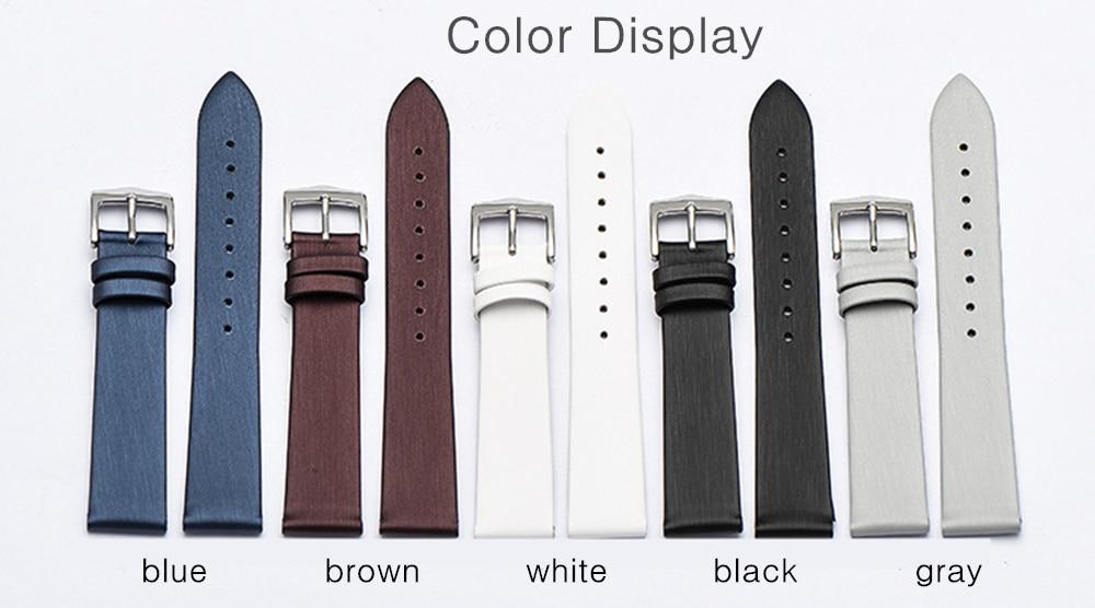 12mm 14mm 16 18 20mm Universal Relógios
