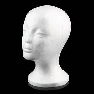 Display Holder Stand Model Drop Shipping Practical Foam Female Mannequin Head Wigs