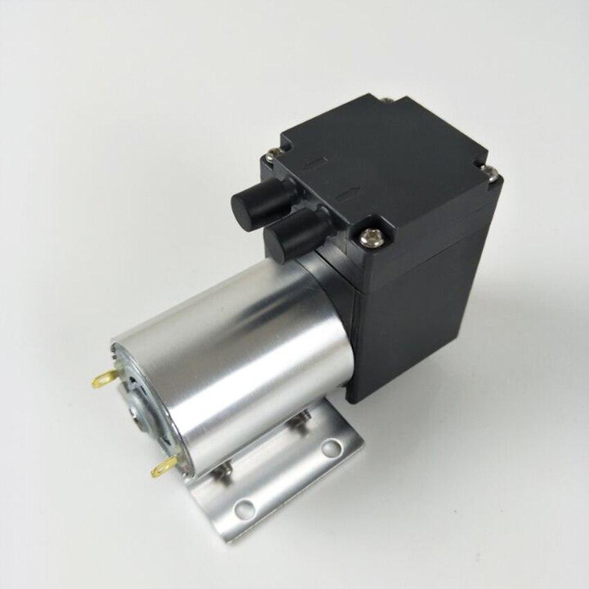 -80kpa Mini Vacuum Pump DC 12V 24V Small Negative Pressure Suction Air Pump Medical Diaphragm Pump Cupping Vacuum Pump 12L/min