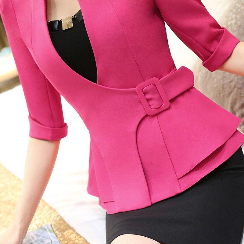 Aliexpress.com : Buy Fashion Work Wear Jacket Half Sleeve ...