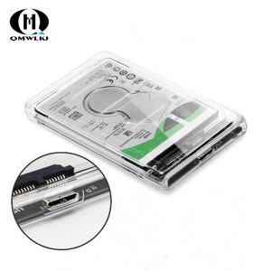 Image 1 - SATA a USB caja de la unidad de disco duro USB 3,0 2,5 Disco Duro SSD caja de disco duro mecánico con Cable USB