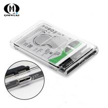 SATA vers USB boîte de disque dur Mobile USB 3.0 2.5 disque dur SSD boîte de disque dur mécanique avec câble USB