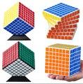 Shengshou 7 x 7 x 7 velocidad 7 x 7 cubo mágico negro Puzzle récord mundial en velocidad Twisty cubo mágico inteligencia interesante juguetes educativos