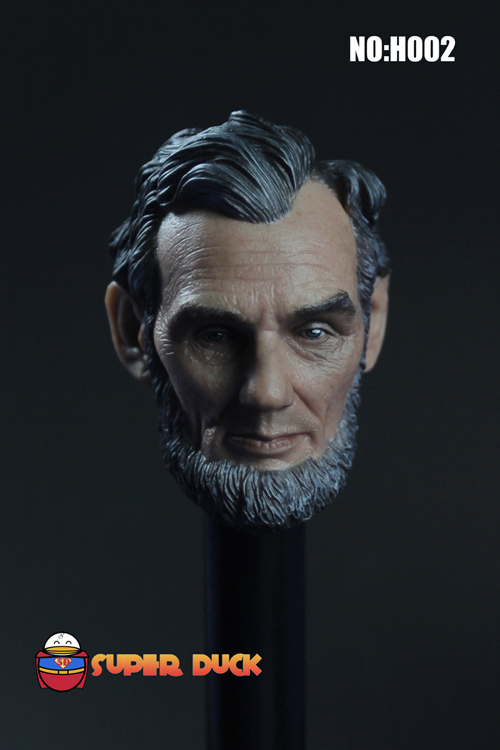 1:6 scale male Figure accessories America president Abraham Lincoln head shape carved for 12 Action figure doll president lincoln ii asc mod
