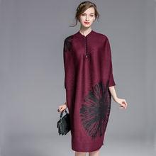 2018 весеннее женское платье miyak складки модный дизайн свободный