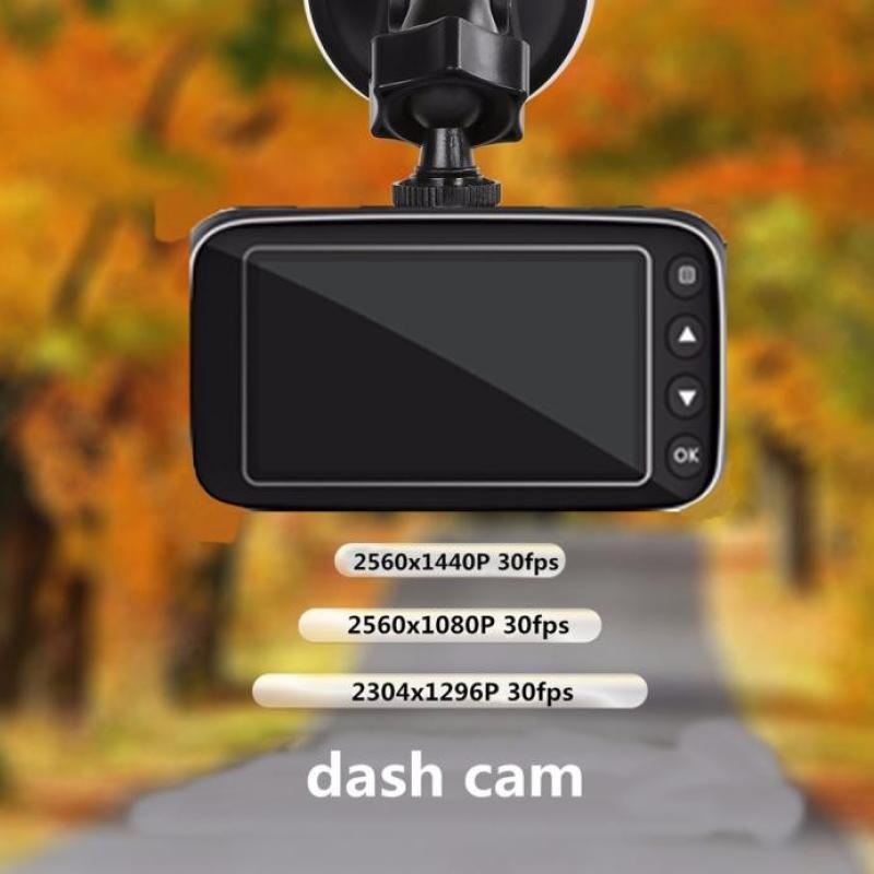 2017 hot sale fashion dash cam 21:9 wide screen 1080p 170 degree night vision support hdmi g-sensor j