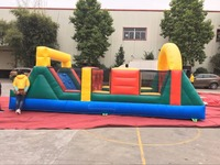 Kids inflatable obstacle,inflatable fun playground toys for outdoor activities for sale