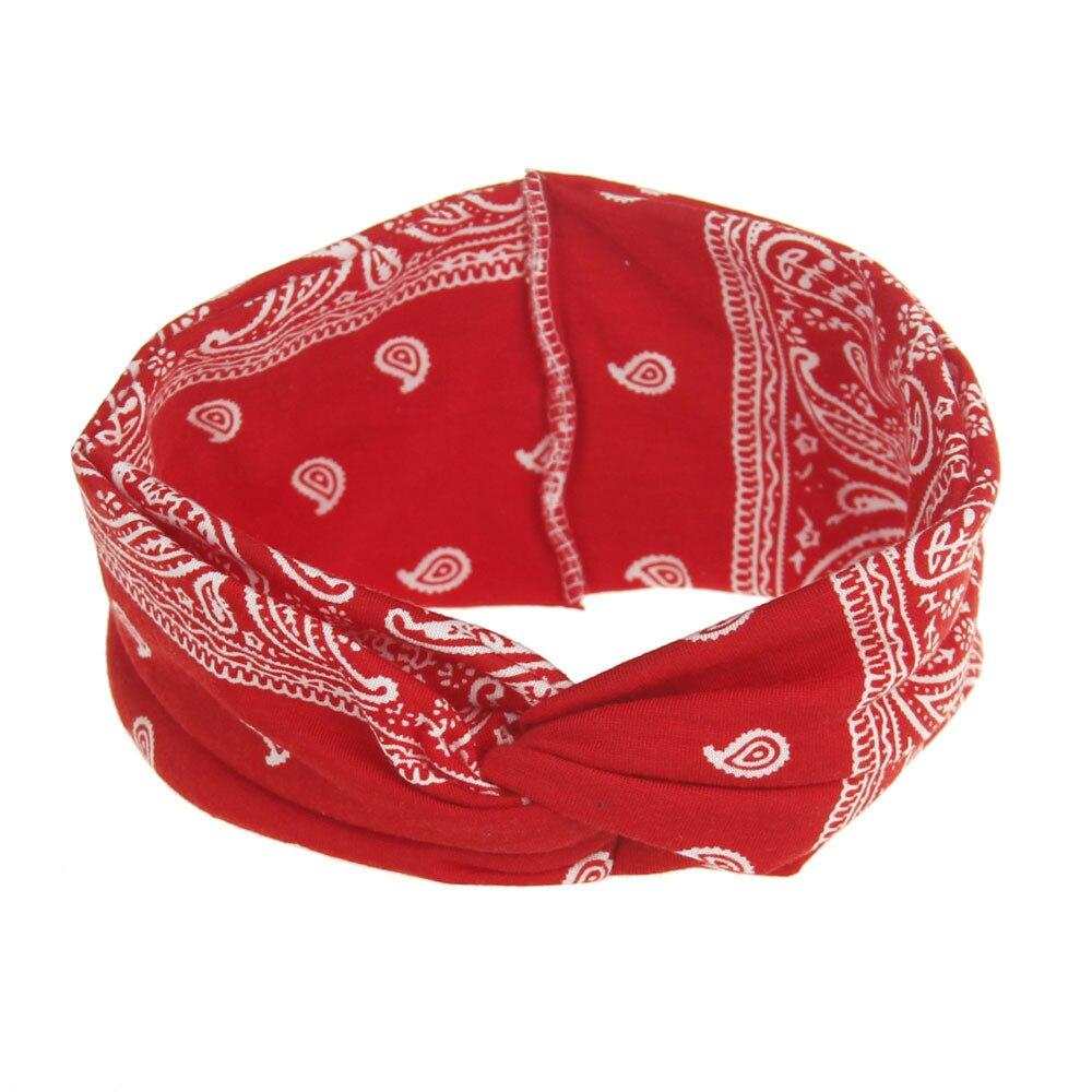 <+>  Дизайн Женщины Йога Спорт Эластичные Цветочные Повязка Для Волос Оголовье Тюрбан Twisted Knotted Хло ①