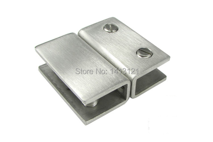 free shipping stainless steel glass clamp door hardware Glass fixed glass sandwich plate holder bracket furniture
