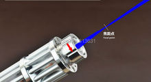 Wholesale Blue Laser Pointers 80000mw 80W 450nm Burn Match/Pop Balloon/Cigarettes/Wood +Free Glasses + Charger For free +Gift Box