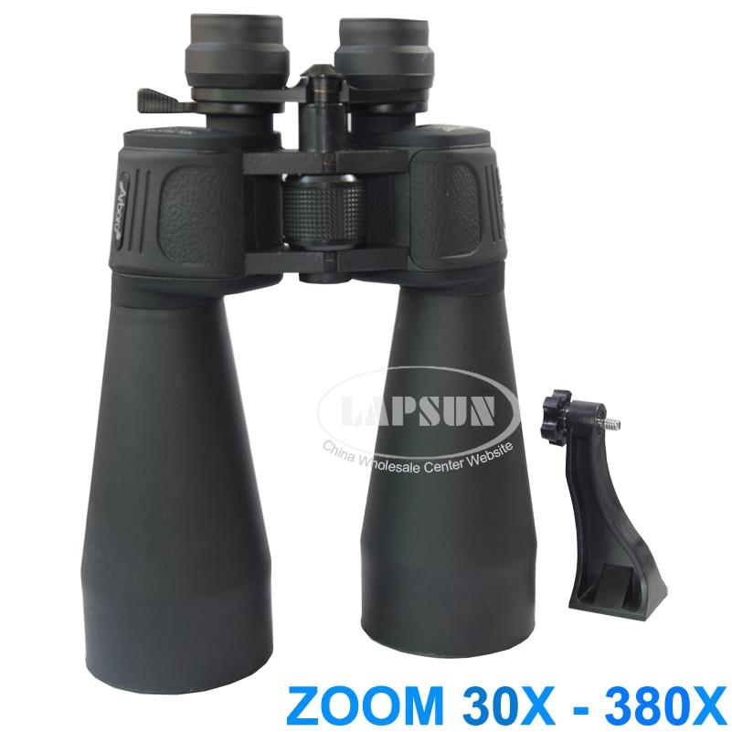 Brand New Arboro Big Eye Lens 30X 380X 70mm Fully Coated Optic Lens Military Zoom Binoculars