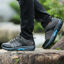 Outdoor Hiking Trekking Boots Waterproof Boot Brand Men canvas fishing shoes Sport Shoes Mountain Climbing Hiking Shoes Boots