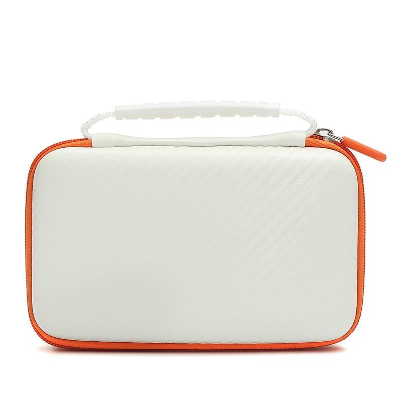 Para Novo LL Para Nintendo 2DS 2DS Novas XL/LL 3 Em 1 Kits conjunto Com Branco Conjunto EVA Carrying Case Bag + Protetor de Tela + Stylus