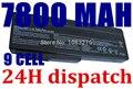 7800 mah batería del ordenador portátil para asus n61j n61ja n61jv n61v n61vg n61d a32-a33-m50 m50 m50s n53 n53s n53sv a32-m50 a32-n61 a32-x64 a33-m50