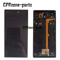 100% Warranty Black LCD For DEXP Ixion W5 LCD Screen Display with Touch Screen Digitizer + Frame assembly Free Shipping