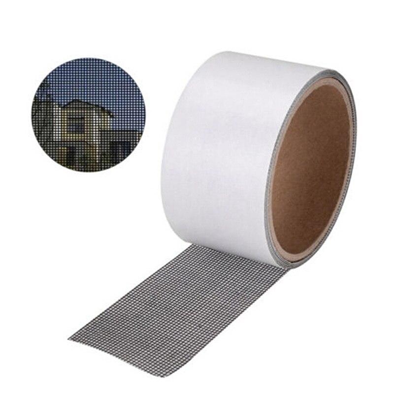 5*200cm Anti-mosquito Mesh Sticky Wires Patch Repair Tape Summer Screen Window Door Mosquito Netting Patch Repair Broken Holes