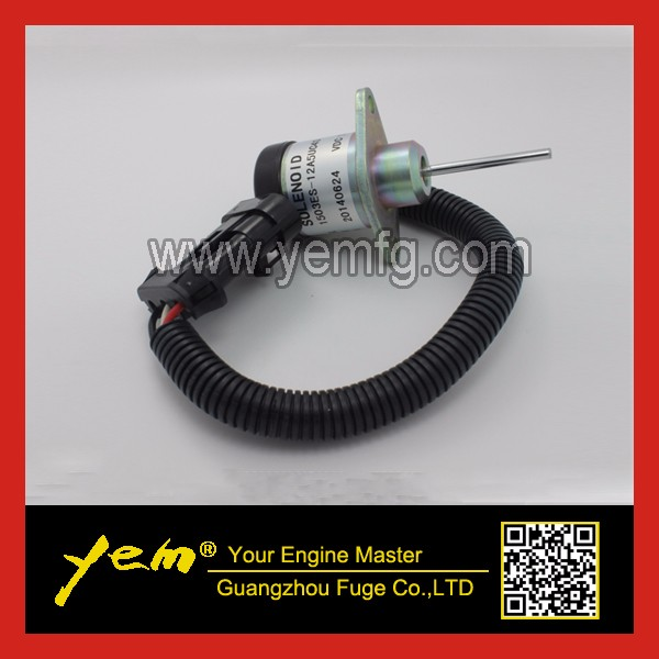 US $48 0 |For Kubota engine parts Shutoff Solenoid 1503ES 12A5UC4S fits for  Bobcat S185 skid steer 6691498 on Aliexpress com | Alibaba Group