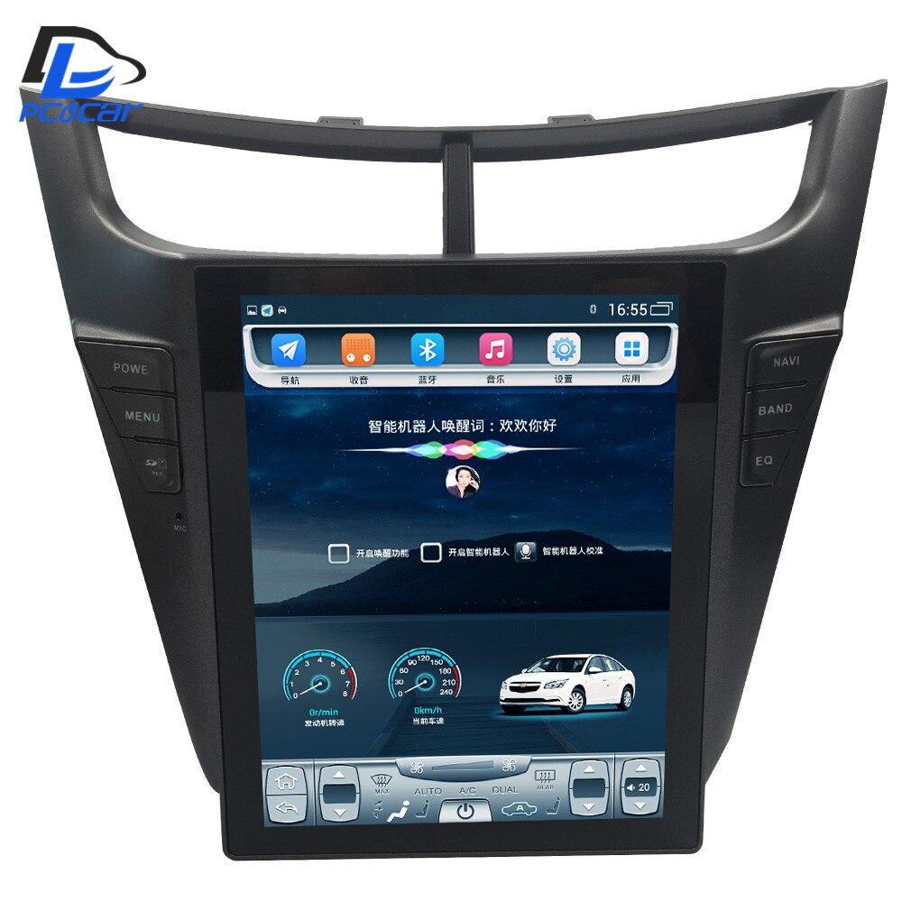 32G ROM écran Vertical 4G LTE android gps lecteur multimédia vidéo radio tableau de bord pour Chevrolet Sail 2015 2016 ans navigateur de voiture