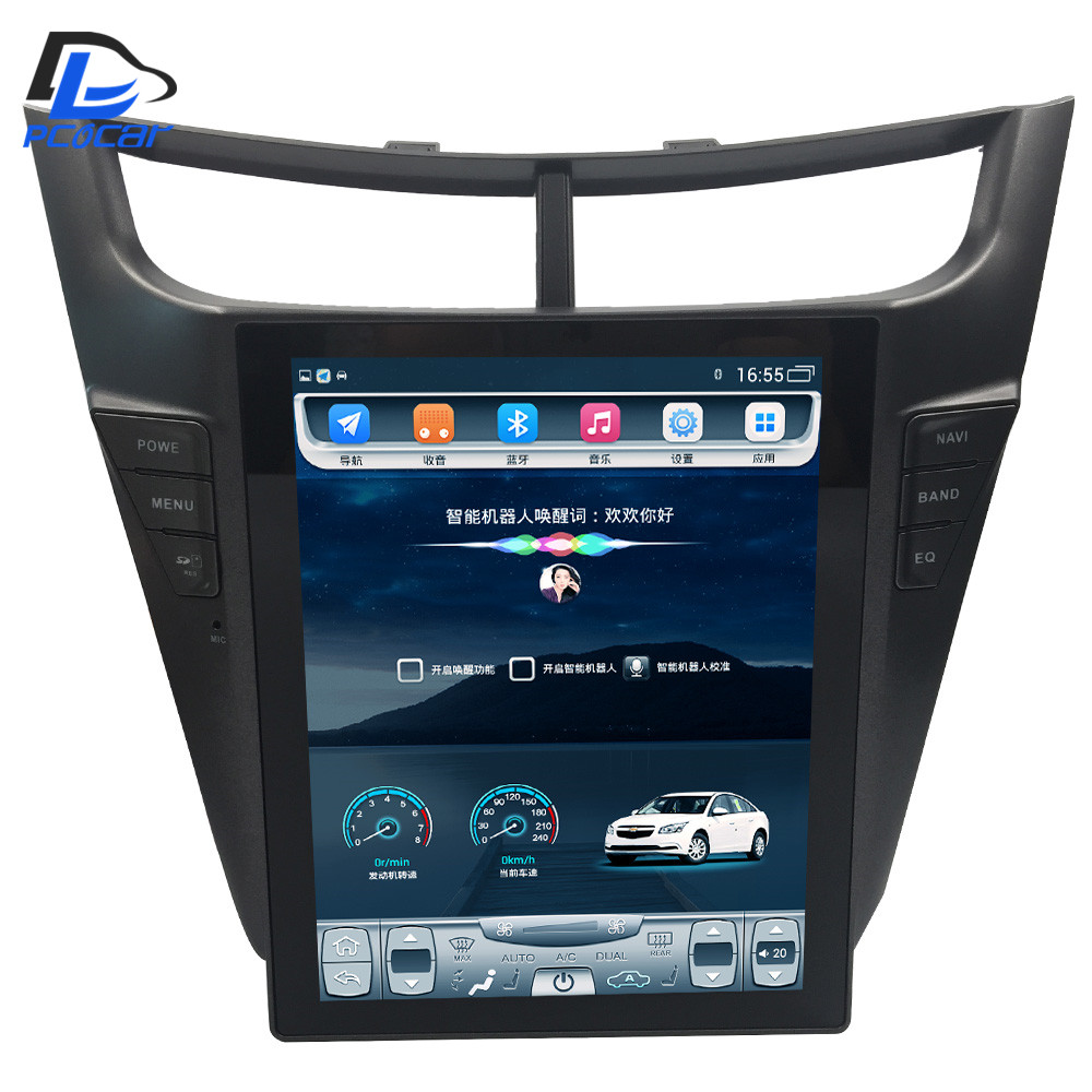 32G ROM Vertical screen 4G LTE android gps multimedia video radio player dash for Chevrolet Sail 2015 2016 years car navigaton