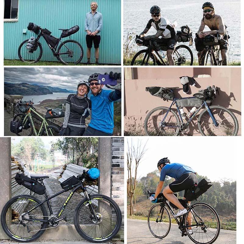 ROSWHEEL velosipēdu seglu soma 8L 10L ūdensnecaurlaidīgs ceļa - Riteņbraukšana - Foto 6