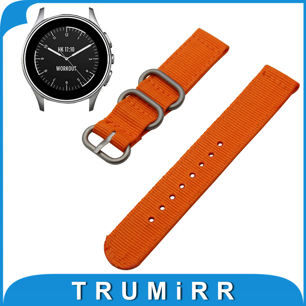 22mm Nylon Watch Band for Vector Luna / Meridian, for Xiaomi Smartwatch Huami Amazfit Strap Wrist Belt Bracelet
