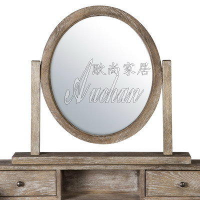 Fashion solid wood antique furniture series vanity mirror makeup mirror OS001