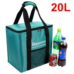 20л сумка-холодильник, теплоизоляционная посылка, Термосумка для холодильника, для автомобиля, для пикника, большая сумка-холодильник, тепло...