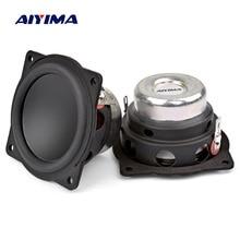 AIYIMA 2 шт. 2 дюйма мини аудио портативные колонки 4Ohm 20 Вт полный спектр Bluetooth динамик для DIY домашнего кинотеатра