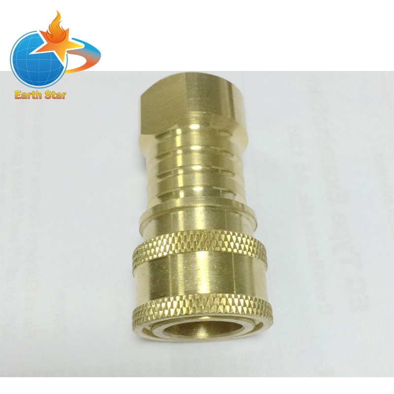 Propane/Natural Gas Connector Kit 3/8 Male Pipe Thread x 3/8 Female Pipe Thread 5 pcs hydraulic 3 8 x 3 8 npt female thread flat end pipe fittings couplers free shipping
