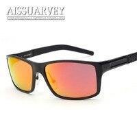 Thời trang big được thiết kế thương hiệu người đàn ông phân cực UV400 sunglasses khung lái xe ra cửa tầm nhìn ban đêm kính mắt mặc 8554