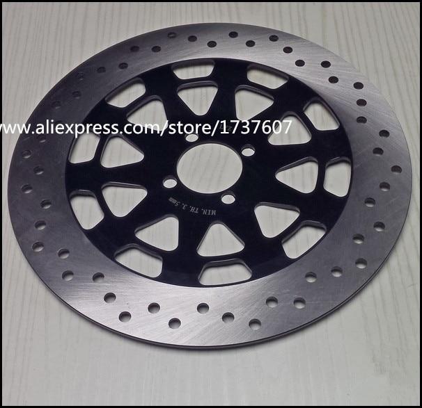 1PCS Aluminum alloy motorcycle brake disc/high cooling motorcycle brake disc brake pads 300mm for GS125 GN125 disc brake squeal