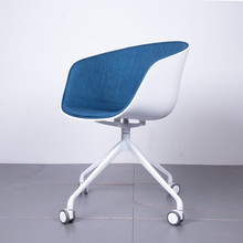 Nordic chair cafe dining chair modern home simple office computer bag chair(China)