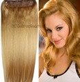 #14 Cabeza Llena 1 unids conjunto cabeza llena Brasileña remy Virginal extensiones de cabello humano clips en/sobre 26 colores disponibles