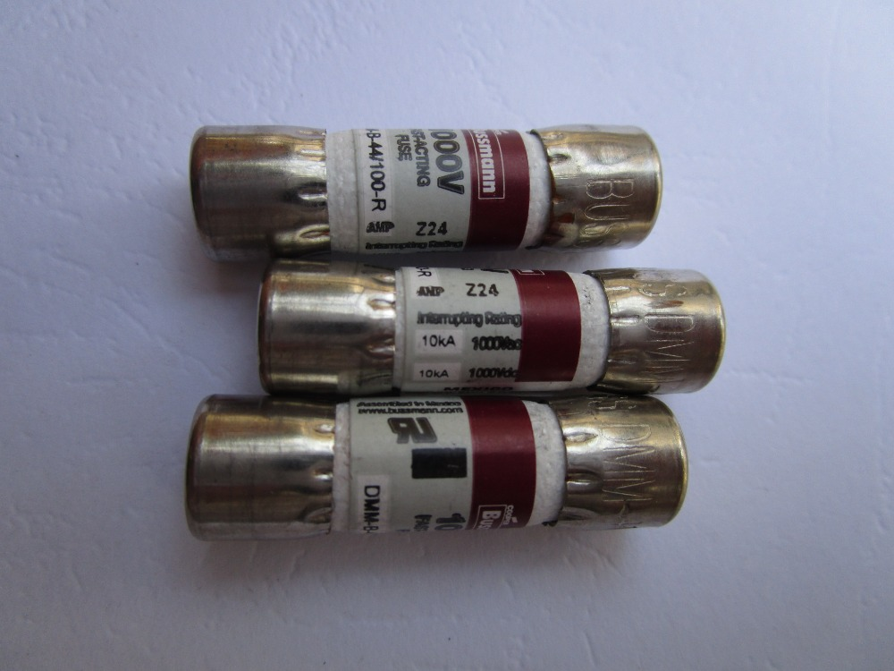 200 Pcs Ceramic Fuse Buss Dmm B 44 100 R 0 44a 440ma 1000v