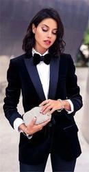 Navy 2 Piece Office Uniform Women Female Business Suit Women PantSuits Tuxedos Suits for Wedding Blazer Trouser Jacket Formal