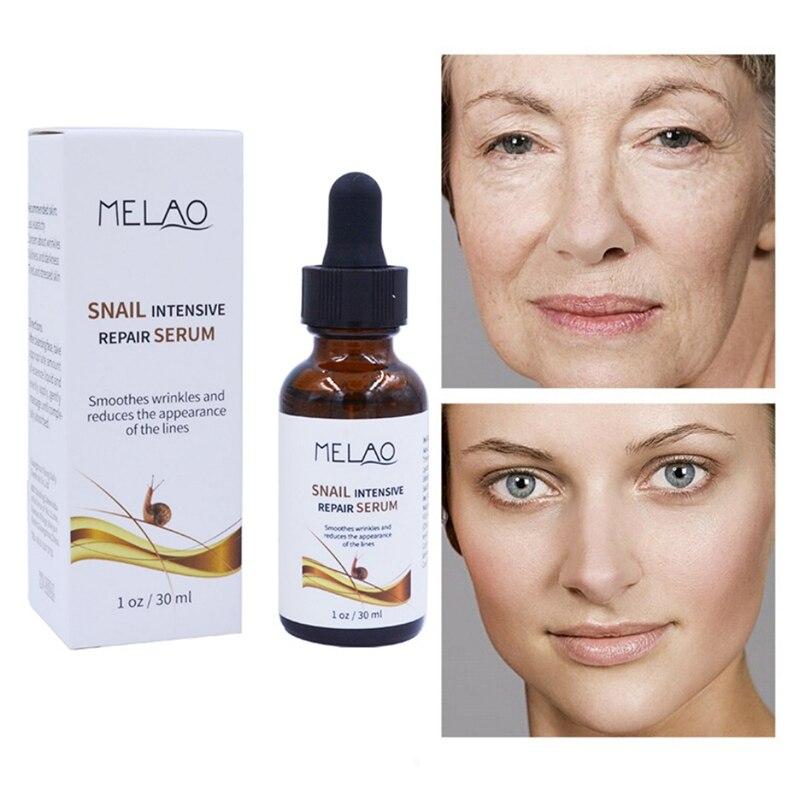 Face SkiN Care Snail Bone Collagen Solution Facial Serum Anti Aging Intensive Face Lifting Firming Moisturizer 30ml