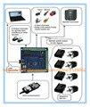 100 KHz mach3 USB DEL CNC de 4 Ejes Stepper Motor Controller Board USBCNC Suave tarjeta de Controlador de Movimiento de Pasos 24 V